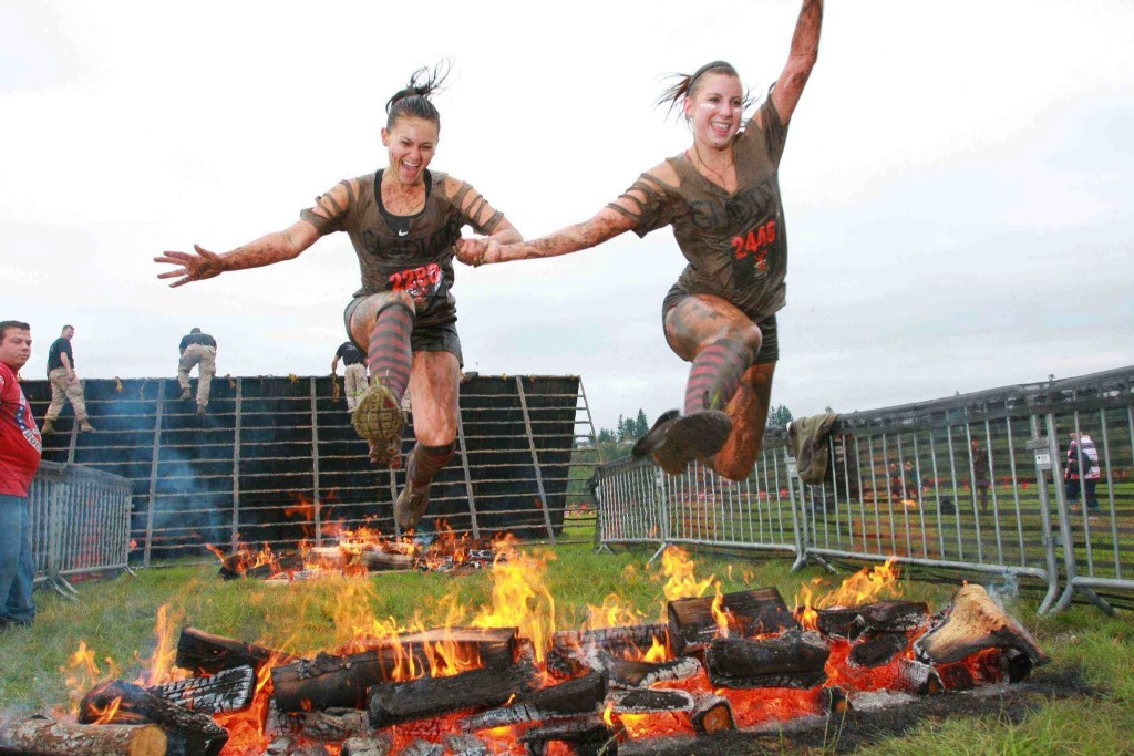 Gladiator Rock n run obstacle race