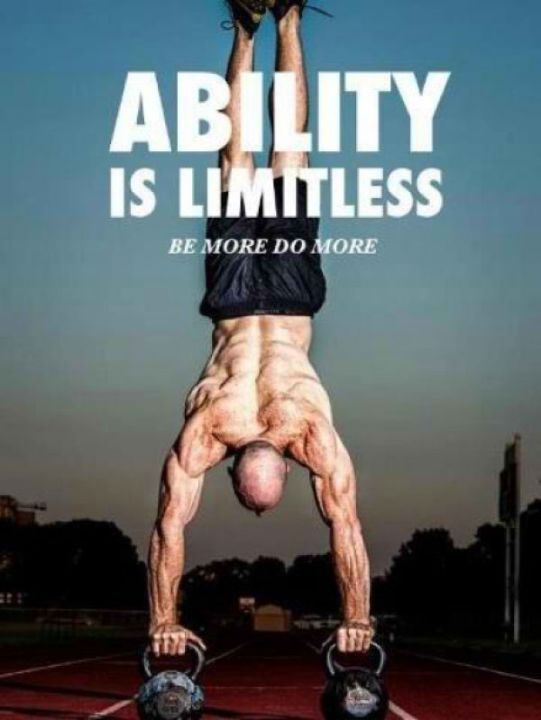 Fitness Motivational Quotes Ability Is Limitless