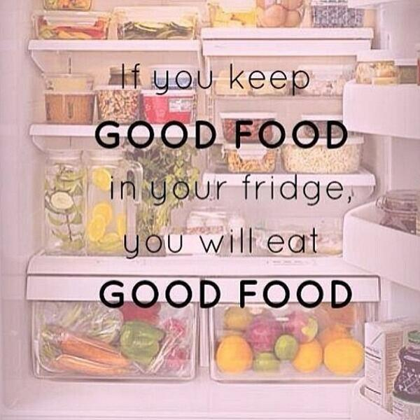 Fitness Motivational Quotes Keep And Eat Good Food In Your Fridge