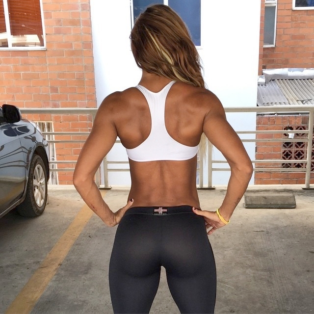 back and buns body motivation